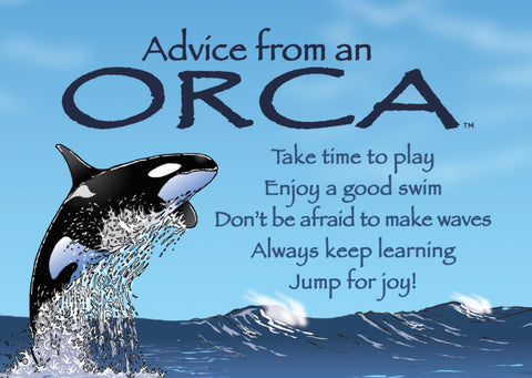 Advice from an Orca Jumbo Magnet