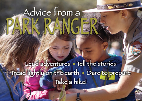 Advice from a Park Ranger Jumbo Magnet