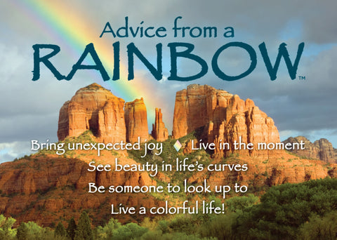 Advice from a Rainbow- Southwest- Jumbo Magnet
