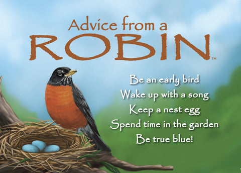 Advice from a Robin Jumbo Magnet