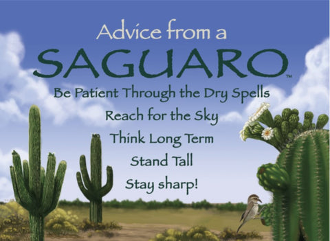 Advice from a Saguaro Jumbo Magnet