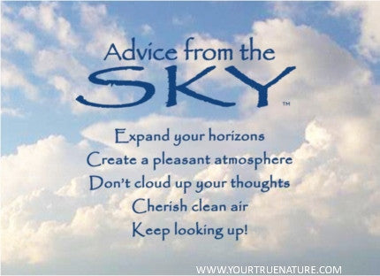 Advice from the Sky Jumbo Magnet