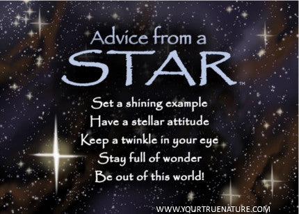 Advice from a Star Jumbo Magnet