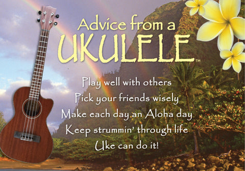 Advice from a Ukulele Jumbo Magnet