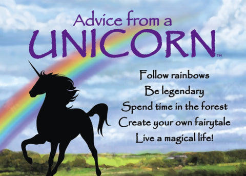 Advice from a Unicorn Jumbo Magnet