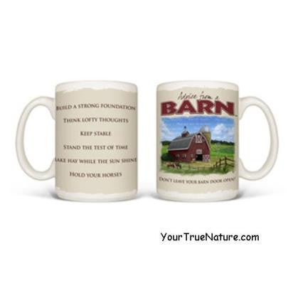Advice from a Barn Mug