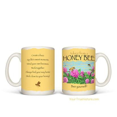 Advice from a Honey Bee Mug
