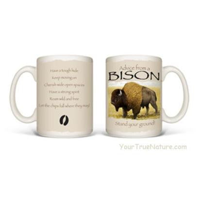 Advice from a Bison Mug