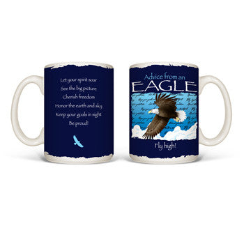 Advice from an Eagle Mug