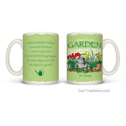 Advice from a Garden Mug