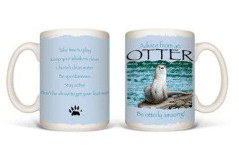 Advice from an Otter Mug
