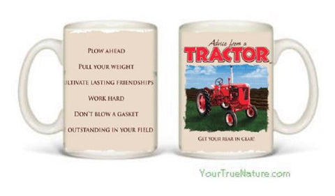 Advice from a Tractor Mug