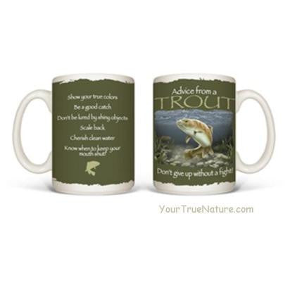 Advice from a Trout Mug