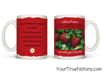 Advice from a Strawberry Mug