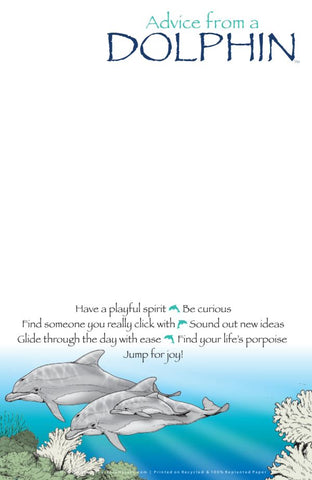 Advice from Nature- Ocean Notepad