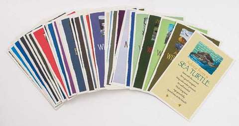 .Best Advice Set You Choose - 12 Assorted Frameable Art Postcards