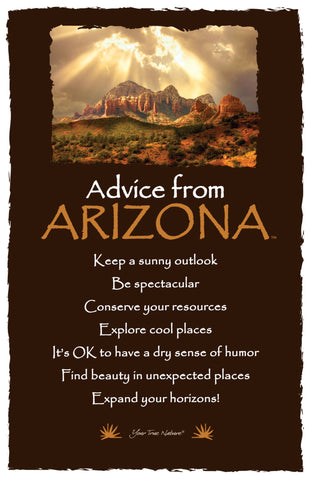 Advice from Arizona - Frameable Art Card