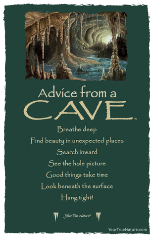 Advice from a Cave Frameable Art Card