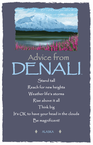 Advice from Denali Frameable Art Card