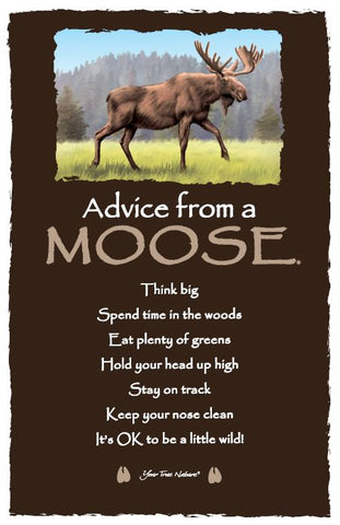 Advice from a Moose Frameable Art Card
