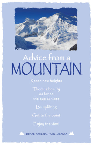 Advice from a Mountain - Denali National Park - Frameable Art Card