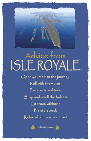 Advice from Isle Royale Frameable Art Card