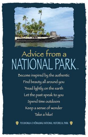 Advice from a National Park- Frameable Art Card