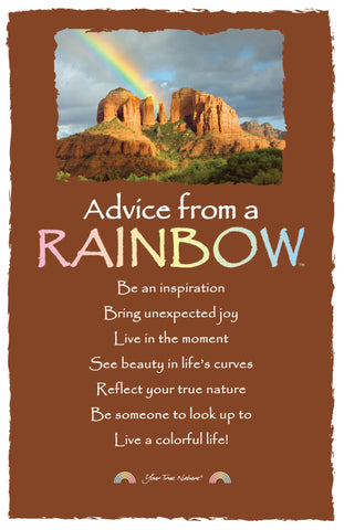 Advice from a Rainbow- Southwest- Frameable Art Card