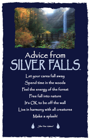 Advice from Silver Falls - Frameable Art Card