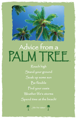 Advice from a Palm Tree Frameable Art Card