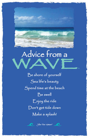 Advice from a Wave-  Frameable Art Card