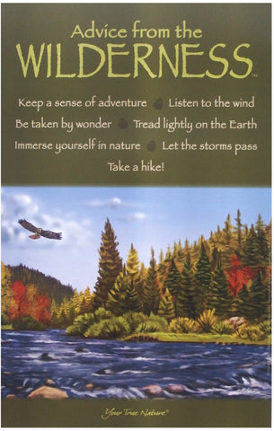 Advice from the Wilderness Frameable Art Poster 11x17