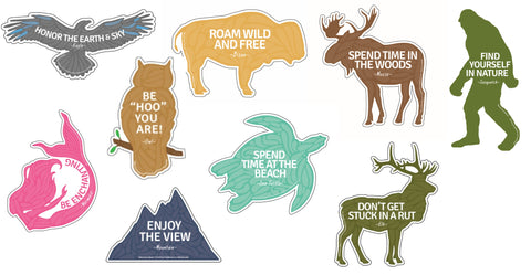 .Best Advice Set  You Choose - 6 Assorted Stickers Set