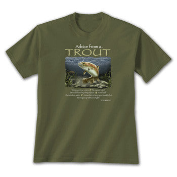 Advice from a Trout T-Shirt
