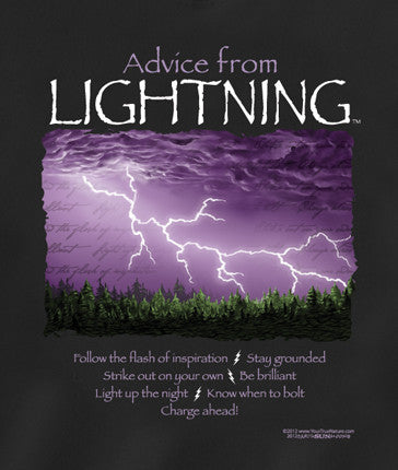 Advice from Lightning T-Shirt