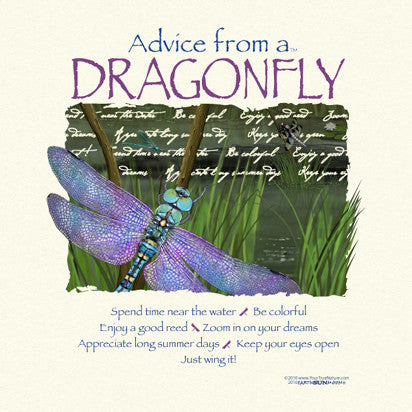 Advice from a Dragonfly T-Shirt