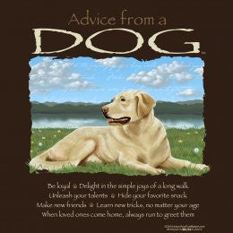 Advice from a Dog T-Shirt