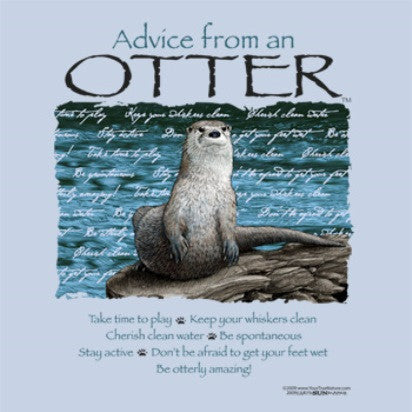 Advice from an Otter T-Shirt