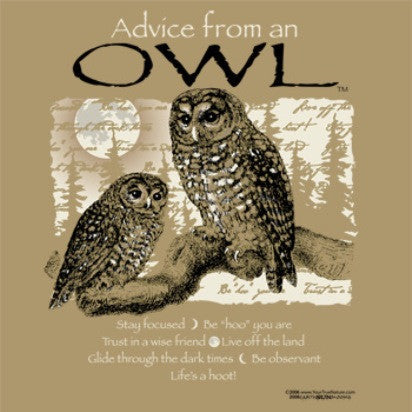 Advice from an Owl T-Shirt