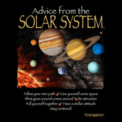 Advice from the Solar System T-Shirt