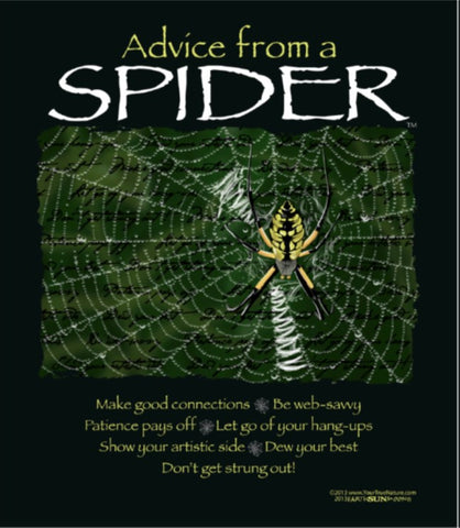 Advice from a Spider T-Shirt