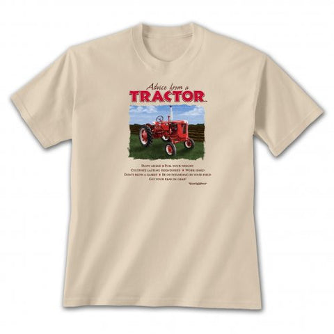 Advice from a Tractor T-Shirt