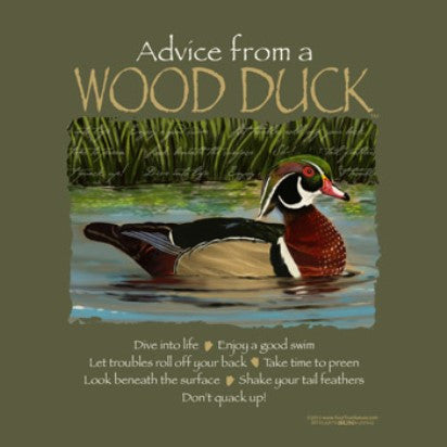 Advice from a Wood Duck T-Shirt