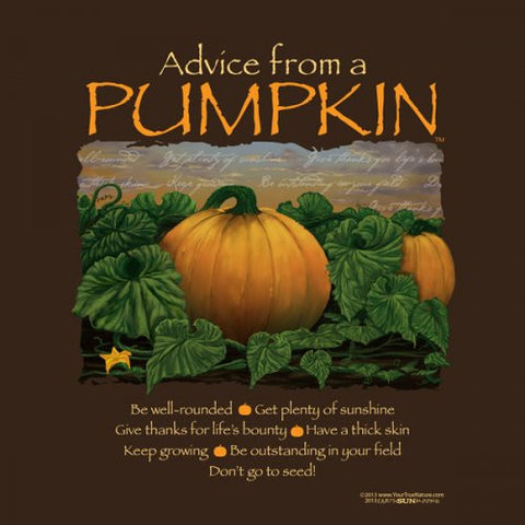 Advice from a Pumpkin T-Shirt