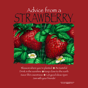 Advice from a Strawberry T-Shirt