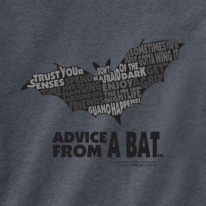 Advice from a Bat Outline T-Shirt