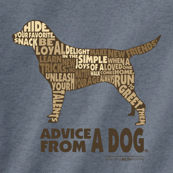 Advice from a Dog Outline T-Shirt