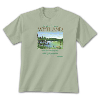 Advice from a Wetland T-Shirt