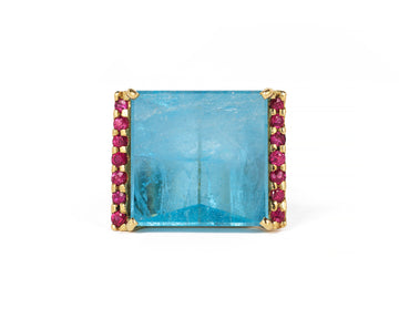 Blue Crush Ring