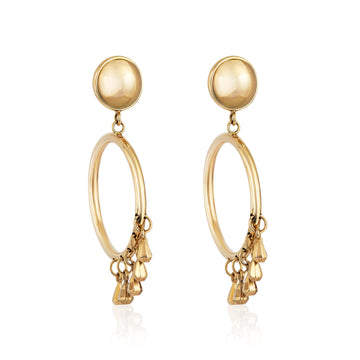 GoldDrop Earrings